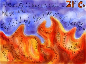 Baptized By the Fires of Change: Visual Notes from SALIC2013